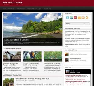 Red Hunt Travel - Screenshot