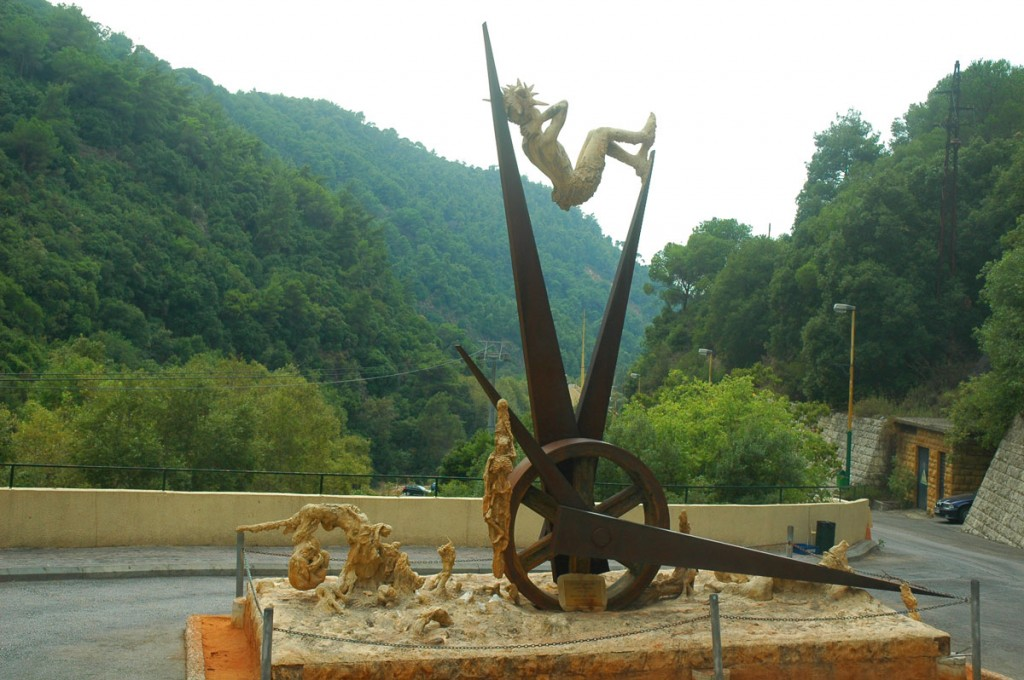 A Sculpture in Lebanon