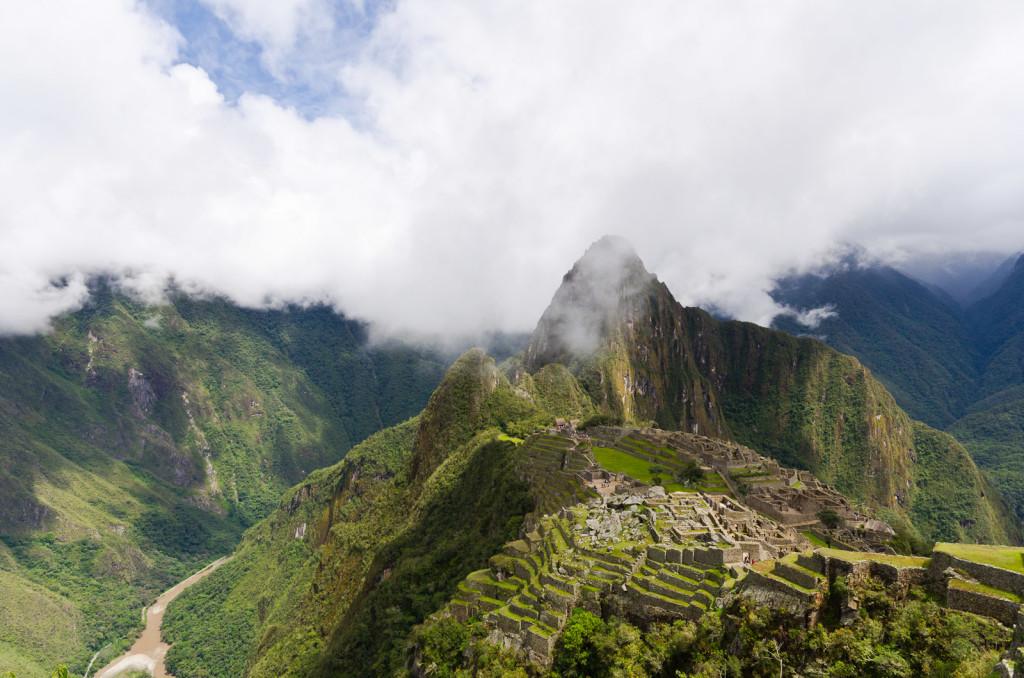 Wayna Picchu at Machu Picchu