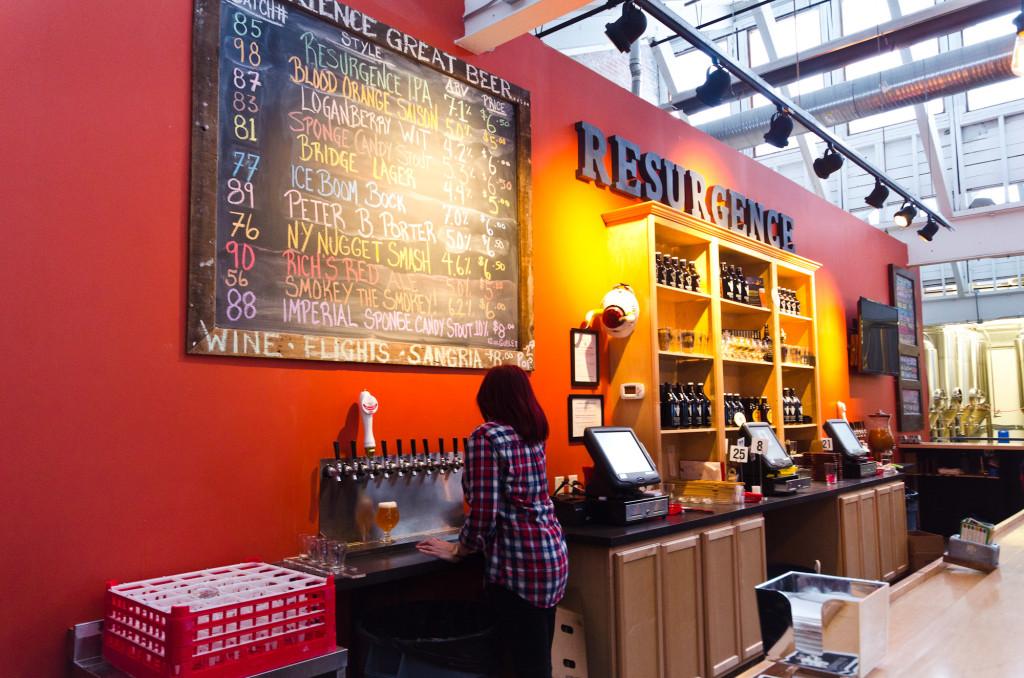 Resurgence Brewery in Buffalo
