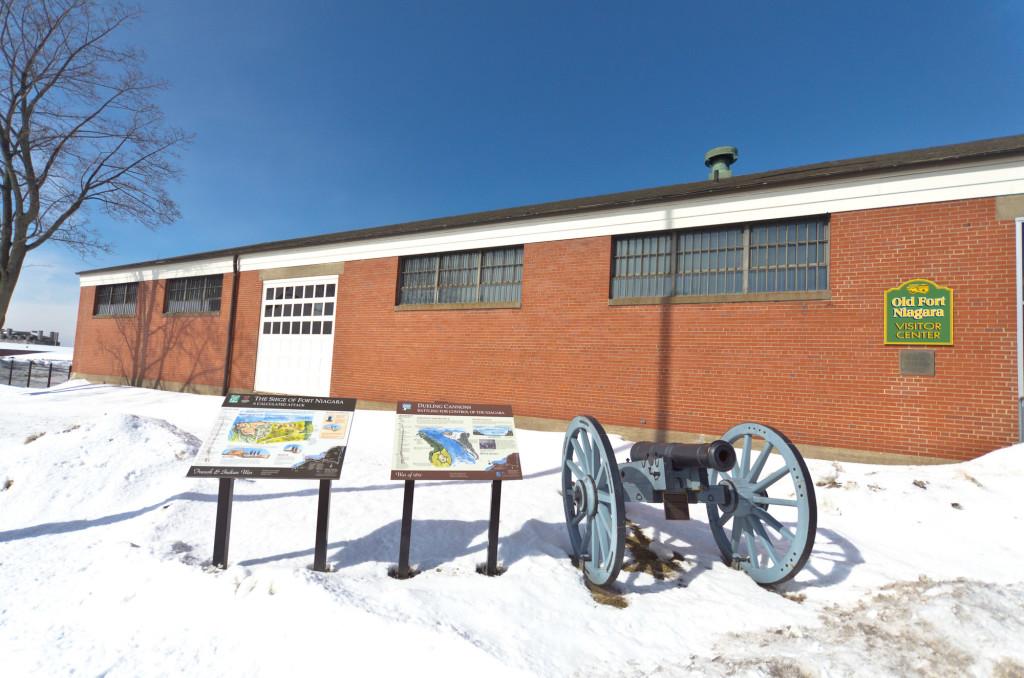 Old Fort Niagara Entrance