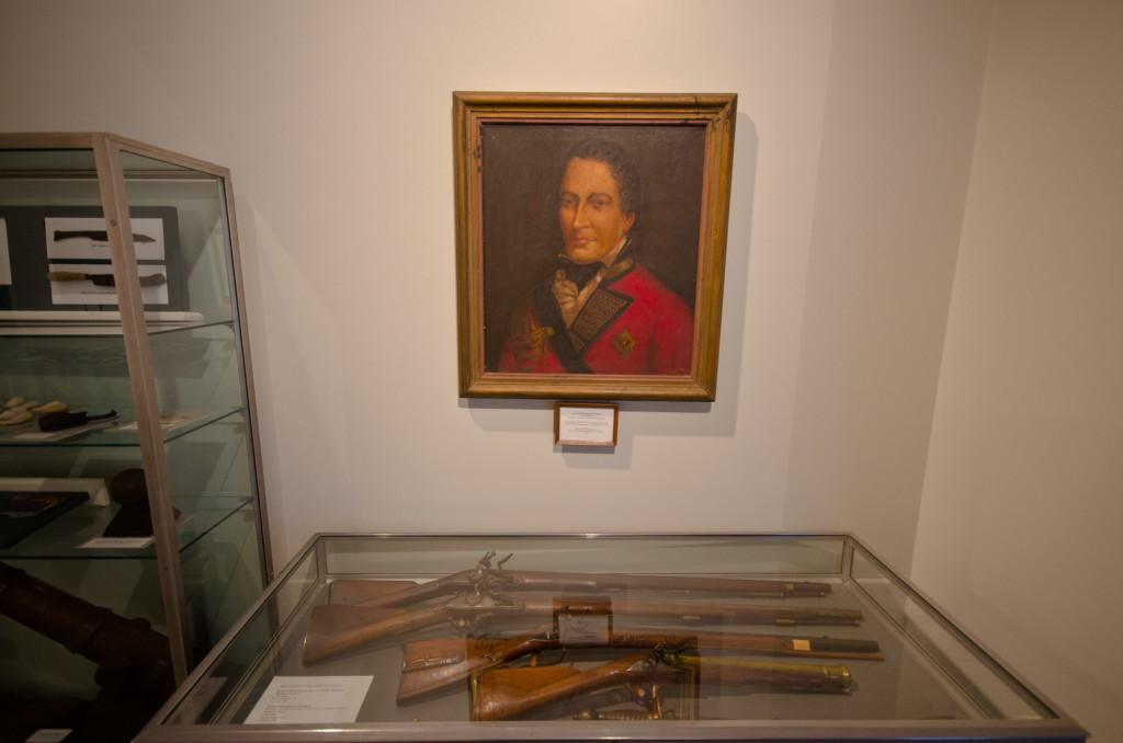 Old Rifles at Fort Niagara Museum