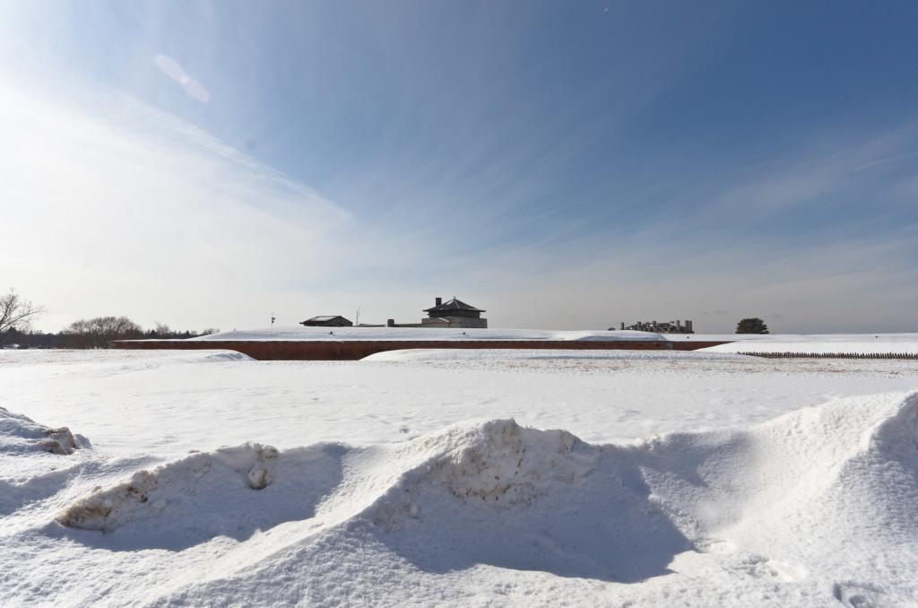 Old Fort Niagara in Winter